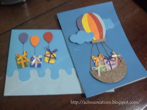 Handmade Cards For Children - achini creations handmade greeting cards birthday cards