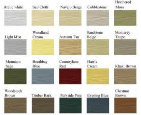 vinyl siding color chart siding color chart studio design gallery best design