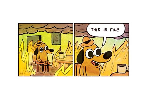 Fine Meme - this is fine creator explains the timelessness of his meme