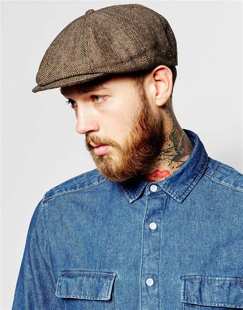 Radiant Messenger02 Brood brixton brood flat cap in gray for lyst