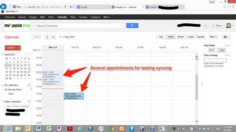 google calendar sync windows 8 setting up google calendar sync in windows 8 with outlook