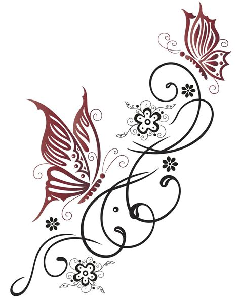 trailing tattoos designs gorgeous butterfly tattoos that look wonderful on the