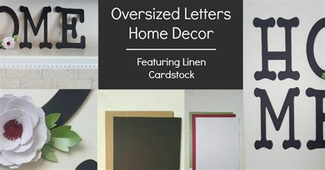letters home decor cutcardstock com affordable cardstock for all your