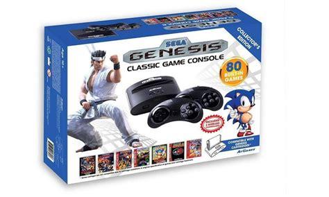 sega genesis classic console with 80 built in sega genesis classic console groupon goods