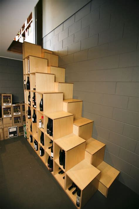 Alternate Tread Stairs Design Simple Plywood Alternating Tread Stair Which Provides Storage And Tests Your Sobriety