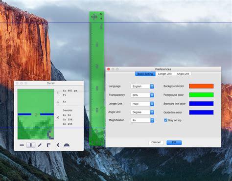 mac screen ruler screen rulers for mac measuring utility to measure anything on mac screen ondesoft