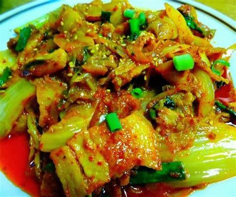 Korean Kimchi Spicy Pork Stir Fry 650g Non Halal chef sambrano plate lunch fall series 2013 21 korean style