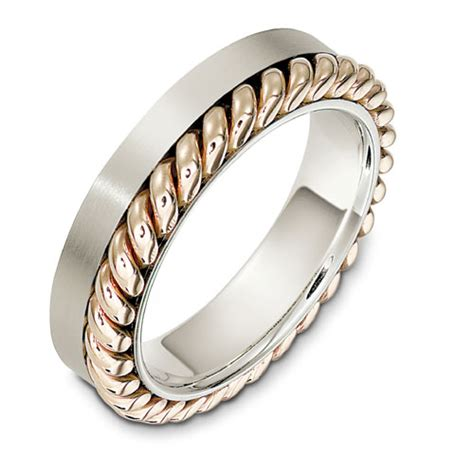 s rope two tone gold band 320