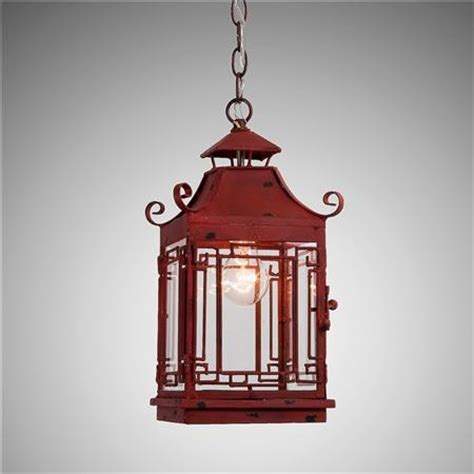 Asian Pendant Lighting Pagoda Lantern Asian Pendant Lighting By Shades Of Light
