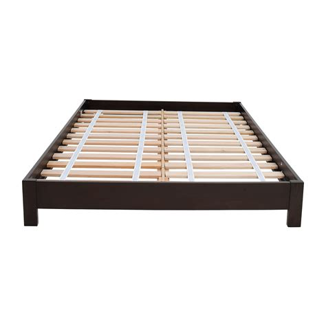 low wood bed frame wood platform bed frame full trends with frames used for