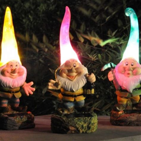 Gnome Solar Lights Glow Sticks Glow Necklaces Glow Bracelets Glowsticks Glow