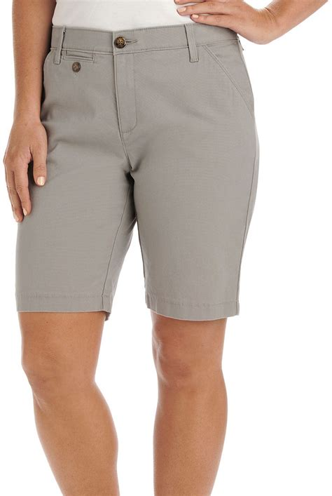 lee comfort fit shorts lee womens comfort fit jude bermuda shorts ebay