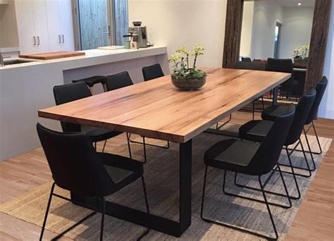 Melbourne Tobacco Square Dining Table Dining Tables Dark Wood » Home Design 2017