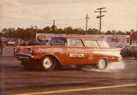 nomad drag car 1957 chevy nomad drag race roller bring a trailer