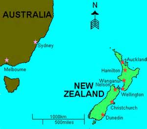 Where Is New Zealand On A World Map by New Zealand Global Villageglobal Village