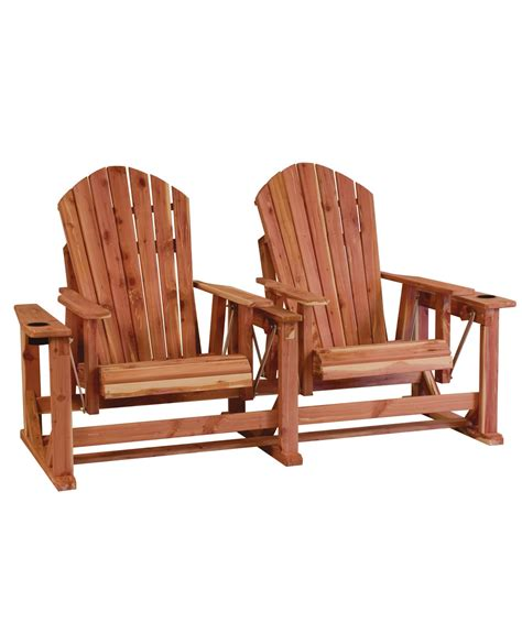 adirondack settee adirondack settee amish direct furniture