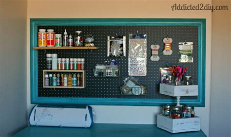 pegboard ideas craft room pegboard organization addicted 2 diy