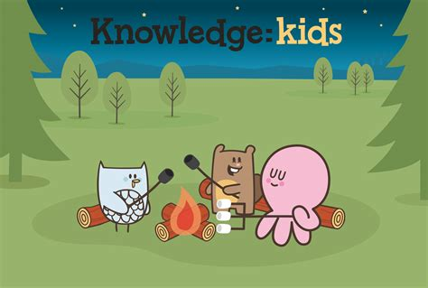 Children Knowledge press release slap happy and knowledge network get together for chip and inkie