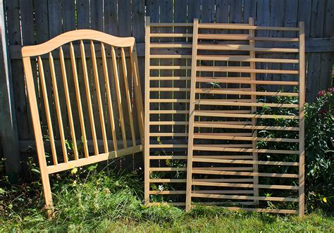 upcycled baby crib upcycled baby crib into craft room storage may arts