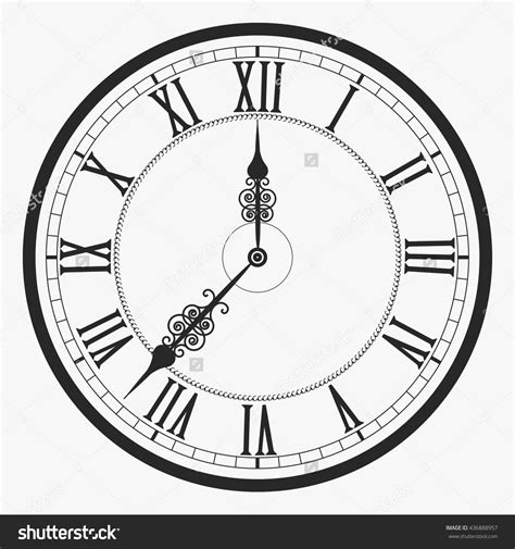 clock face tattoo designs collection of 25 numerals clock sle