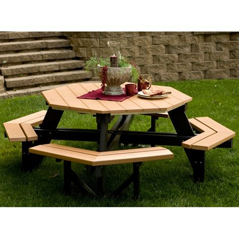 round picnic bench round picnic table for the home pinterest