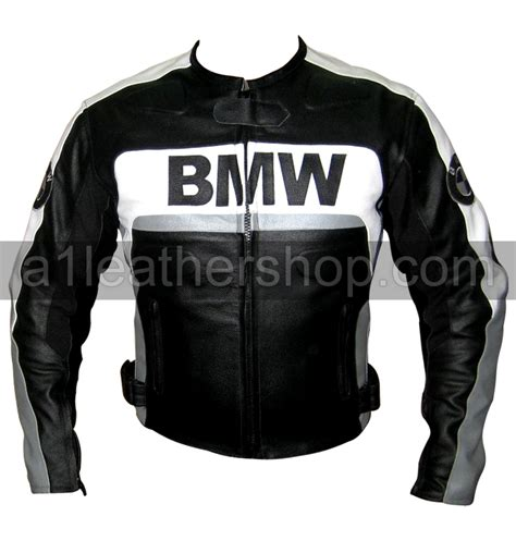 Bmw Motorrad Leather Jacket by Bmw Motorrad Black And White Leather Jacket