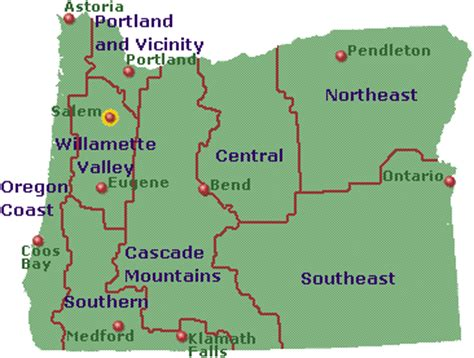 map of oregon major cities photo whitewater rafting oregon river experiences images