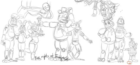 five nights at freddy s coloring book mega coloring book fnaf exclusive work books five nights at freddys 2 free colouring pages