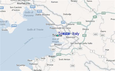 map of trieste italy trieste italy tide station location guide