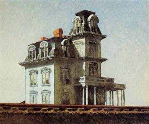 house by the railroad house by the railroad edward hopper oil painting reproductions and prints