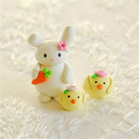 clay crafts for easter polymer clay crafts