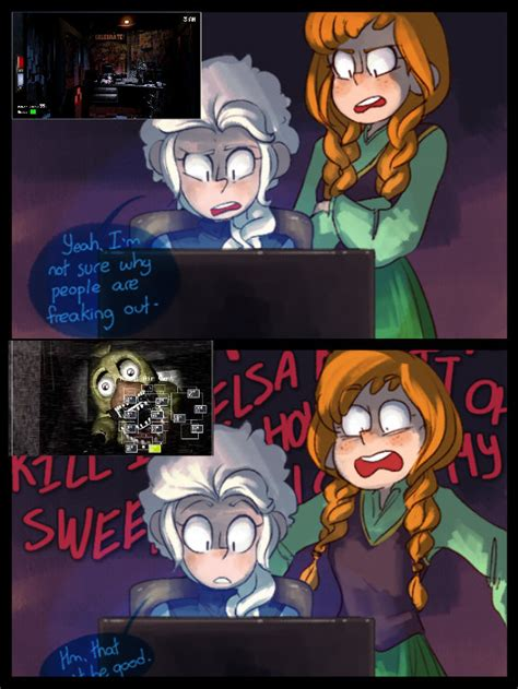 imagenes extrañas de five nights at freddy s 5 nights at freddy s by thefrostqueenofsnow on deviantart