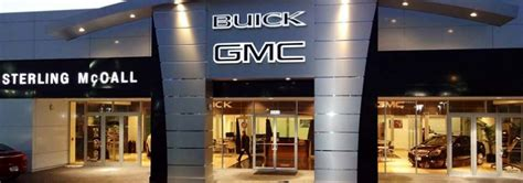 sterling mccall buick gmc houston tx sterling mccall buick gmc in houston tx 77074