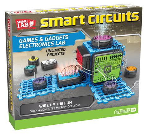 smart circuits games  gadgets electronics learning lab