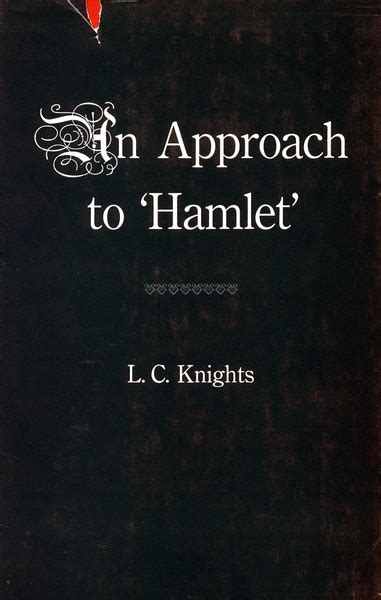 themes about hamlet some shakespearean themes and an approach to hamlet l