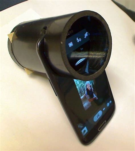 How To Make A Paper Slide Phone - 35mm slide converter for cellphone projectors digital