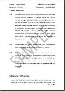 Sample Of Report Conclusion Personal Statement Format