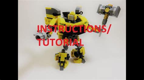 tutorial lego pdf lego transformers bumblebee instructions www pixshark