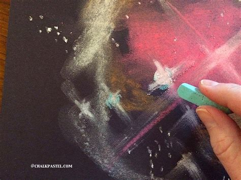 watercolor nebula tutorial homeschooling today magazine nebula chalk art tutorial