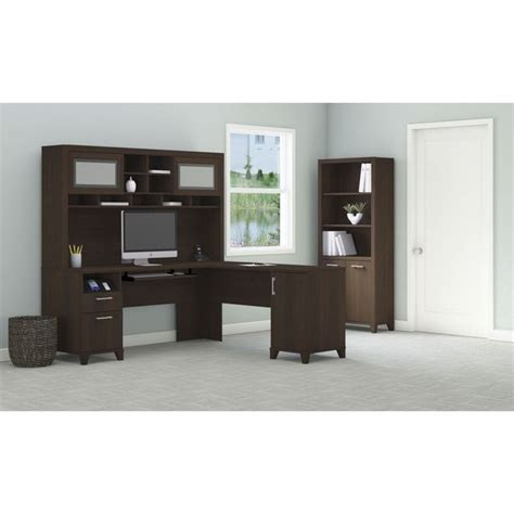 Achieve L Shaped Desk With Hutch And Bookcase Free L Shaped Desk With Bookcase