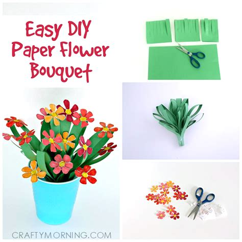 Paper Flower Bouquet Craft - 3d flower craft www pixshark images galleries