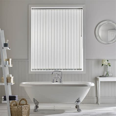White Bathroom Blinds by Vertical Blinds In Staffordshire Amanda For Blinds