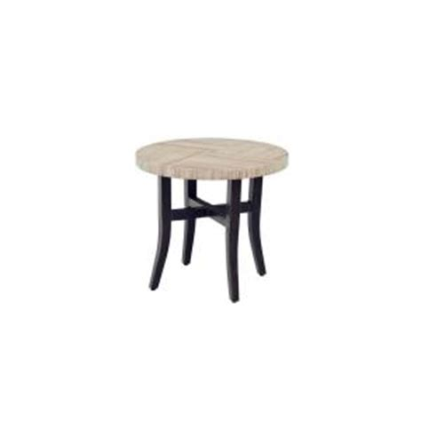 brown greystone patio occasional table stock