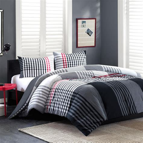 guys bed sets ink ivy blake twin comforter set free shipping