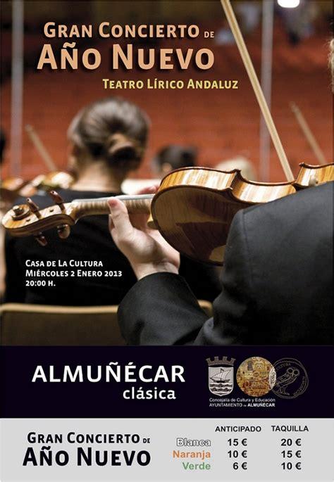 entradas concierto de a o nuevo almu 241 233 car y la herradura celebran sus conciertos de a 241 o