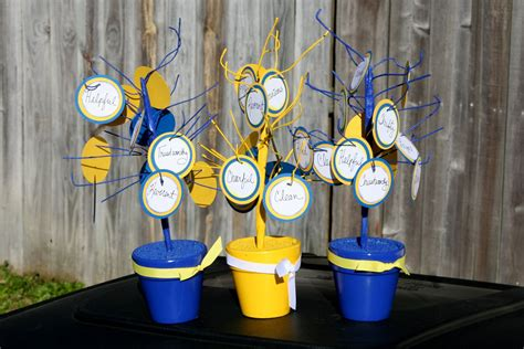 blue and gold centerpiece ideas brister cub scout blue and gold banquet centerpieces
