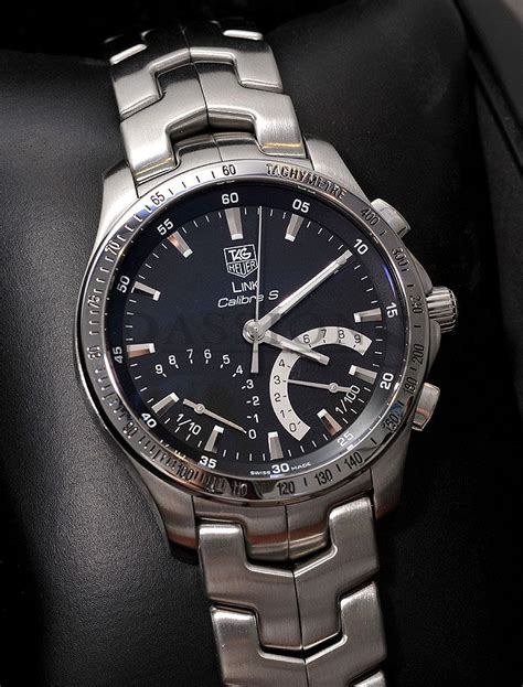tag heuer 41mm quot link calibre s quot 1 100secs chronograph in