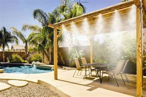 Best Patio Misting System by Outdoor Misting Systems Luxury Pools