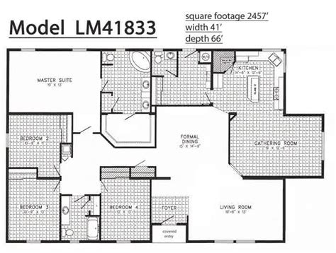 triple wide manufactured home floor plans floor plans mobile homes triple wide bestofhouse net