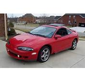 Front Left Red 1995 Mitsubishi Eclipse Car Picture